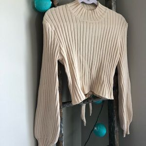 Vici Ursula open backed sweater